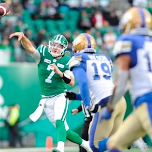 Riders quarterback Fajardo unsure where he'd be without Lawrence's hit on Collaros