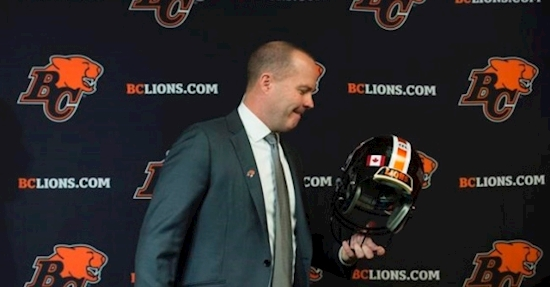 Head coach Campbell, B.C. Lions continuing along despite having to face adversity