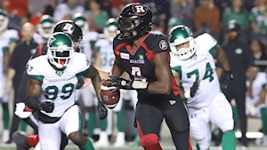 Davis throws three touchdowns to lead Redblacks past Roughriders
