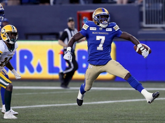 BOMBSHELLS: Bombers find 'Lightning in bottle' with former NFLer Whitehead