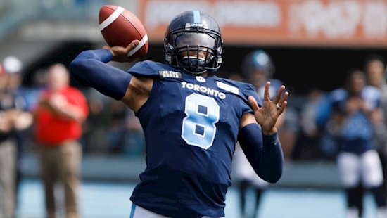 Toronto Argonauts WR Derel Walker: James Franklin looks 'back to his old self'