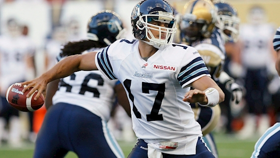 Zach's Back: Argos acquire Collaros from Riders