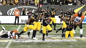 Brandon Banks' late TD rallies Hamilton Tiger-Cats past BC Lions