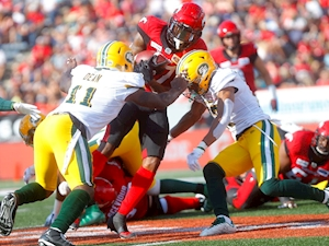 Eskimos edged in wild one against rival Stampeders