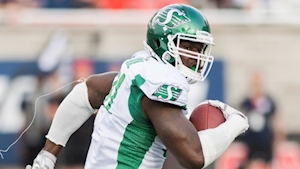 Saskatchewan Roughriders top Montreal Alouettes in first-ever weather-shortened CFL game