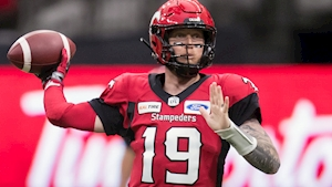 Stamps' Mitchell out; Arbuckle to start in Week 10