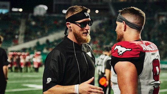 Stamps trying to protect McMahon against Esks