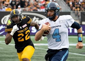 Argonauts, McLeod Bethel-Thompson game for Stampeders' test