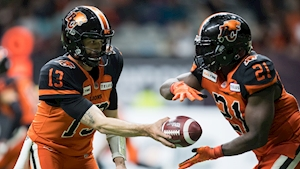 Mike Reilly dominant as B.C. Lions down Ottawa Redblacks