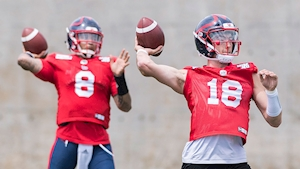 Montreal Alouettes set to start Matt Shiltz at quarterback against Lions