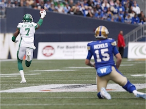 Riders, Bombers square off in first-place showdown
