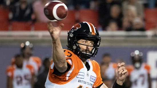 'Hard-headed' Mike Reilly becomes CFL's last quarterback standing