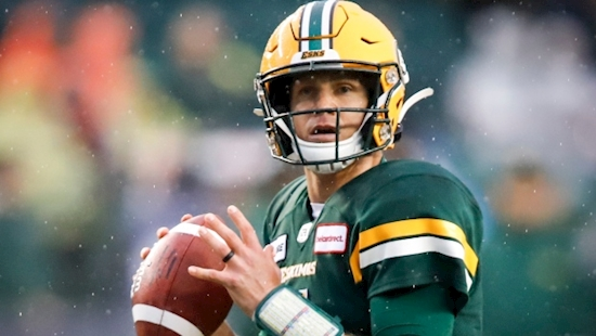 Veteran quarterback Harris's status questionable for Edmonton Eskimos