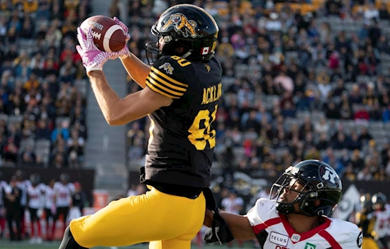 Banks powers Tiger-Cats to record 13th win with defeat of Redblacks