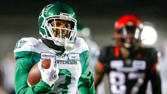 Check out Nick Marshall's TD interception return in CFL
