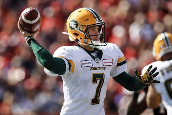 Harris returns under centre for Eskimos looking to regain early season form