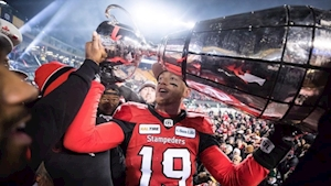 Defending-champion Calgary Stampeders face longer road to Grey Cup