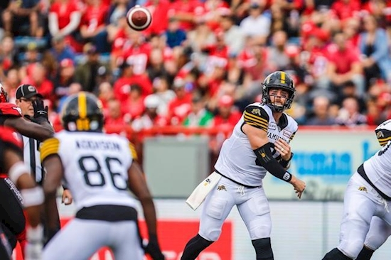 Edmonton Eskimos at Hamilton Tiger-Cats 11/17/19