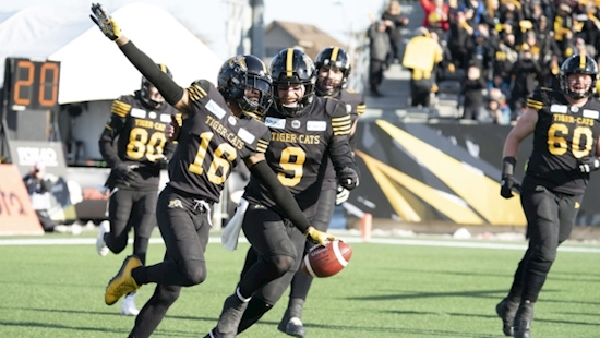 Evans wins first CFL playoff start as Ticats advance to Grey Cup game