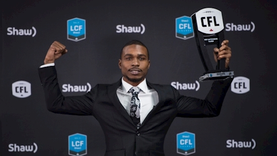 Hamilton receiver Banks leads East domination at CFL awards banquet