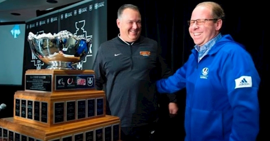 Montreal Carabins look to contain powerful Calgary Dinos offence in Vanier Cup