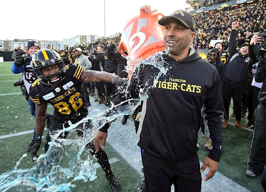 The Hamilton Tiger-Cats are Grey Cup bound after running away with CFL East final