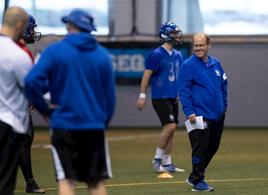 Alouettes hire Danny Maciocia away from University of Montreal to become new general manager