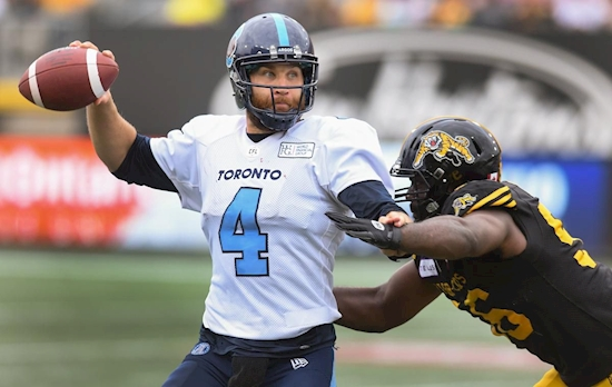 Argos' new coach likes what he sees of McLeod Bethel-Thompson, now the team just has to sign him