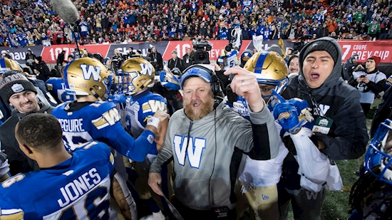 Bombers' O'Shea has sights set on winning another Grey Cup, not repeating