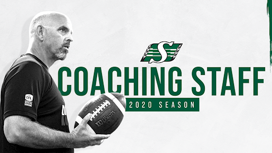 RIDERS ANNOUNCE 2020 COACHING STAFF