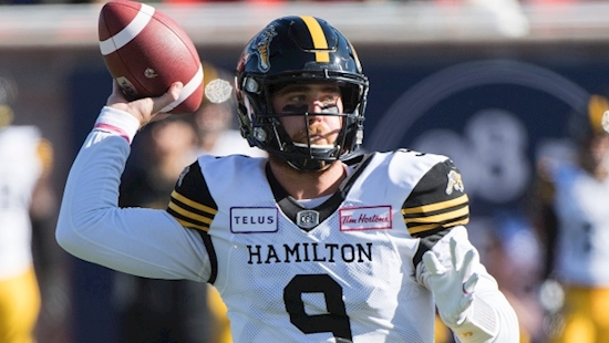 Tiger-Cats head coach Orlondo Steinauer to let Jeremiah Masoli, Dane Evans battle for No. 1 job