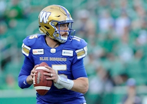 Argos sign former Bomber Matt Nichols and create a competition at the quarterback position
