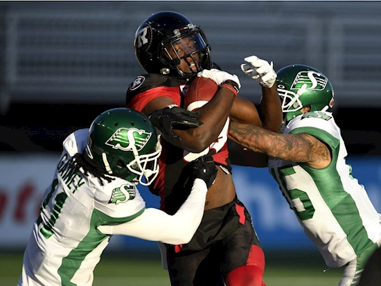 B.C. Lions beef up receiving corps by signing Rhymes