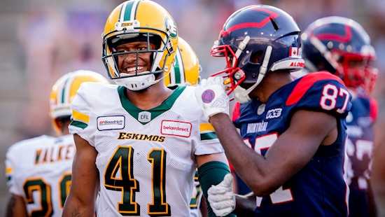 Straight Cash: Hunter excited to grow with Alouettes