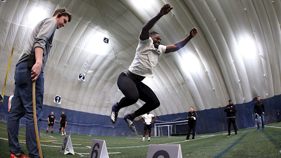 Jordan Williams feels fortunate to take part in final CFL combine