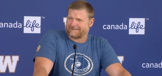 Bombers' Mike O'Shea shocked by cancellation of 2020 CFL season